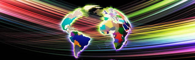 Colorful Continents Web